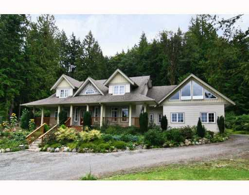 Main Photo: 11630 284TH Street in Maple Ridge: Whonnock House for sale : MLS®# V809162