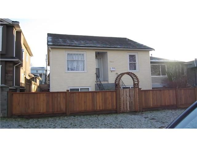 Main Photo: 2456 E 19TH Avenue in Vancouver: Renfrew Heights House for sale (Vancouver East)  : MLS®# V862684
