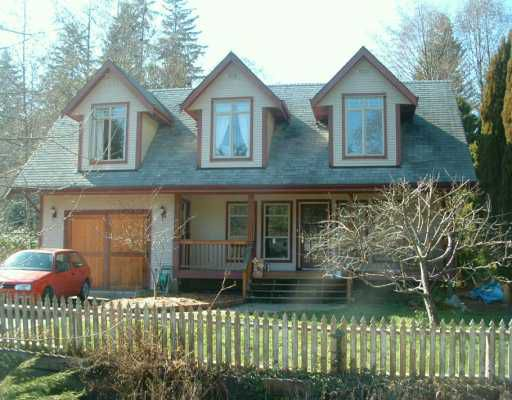 Main Photo: 319 BURNS RD in Gibsons: Gibsons & Area House for sale (Sunshine Coast)  : MLS®# V580513