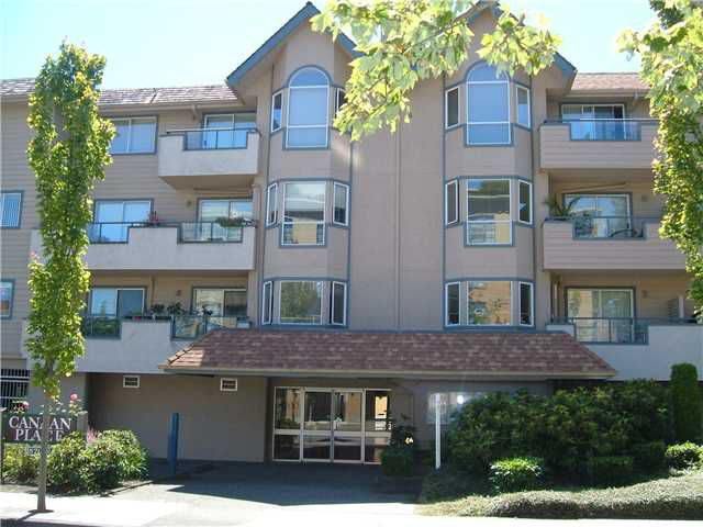 """Main Photo: 107 8700 WESTMINSTER Highway in Richmond: Brighouse Condo for sale in """"CANAAN COURT"""" : MLS®# V824323"""