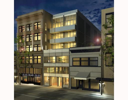 """Main Photo: 510 53 WEST HASTINGS Street in Vancouver: Downtown VW Condo for sale in """"PARIS ANNEX"""" (Vancouver West)  : MLS®# V749029"""