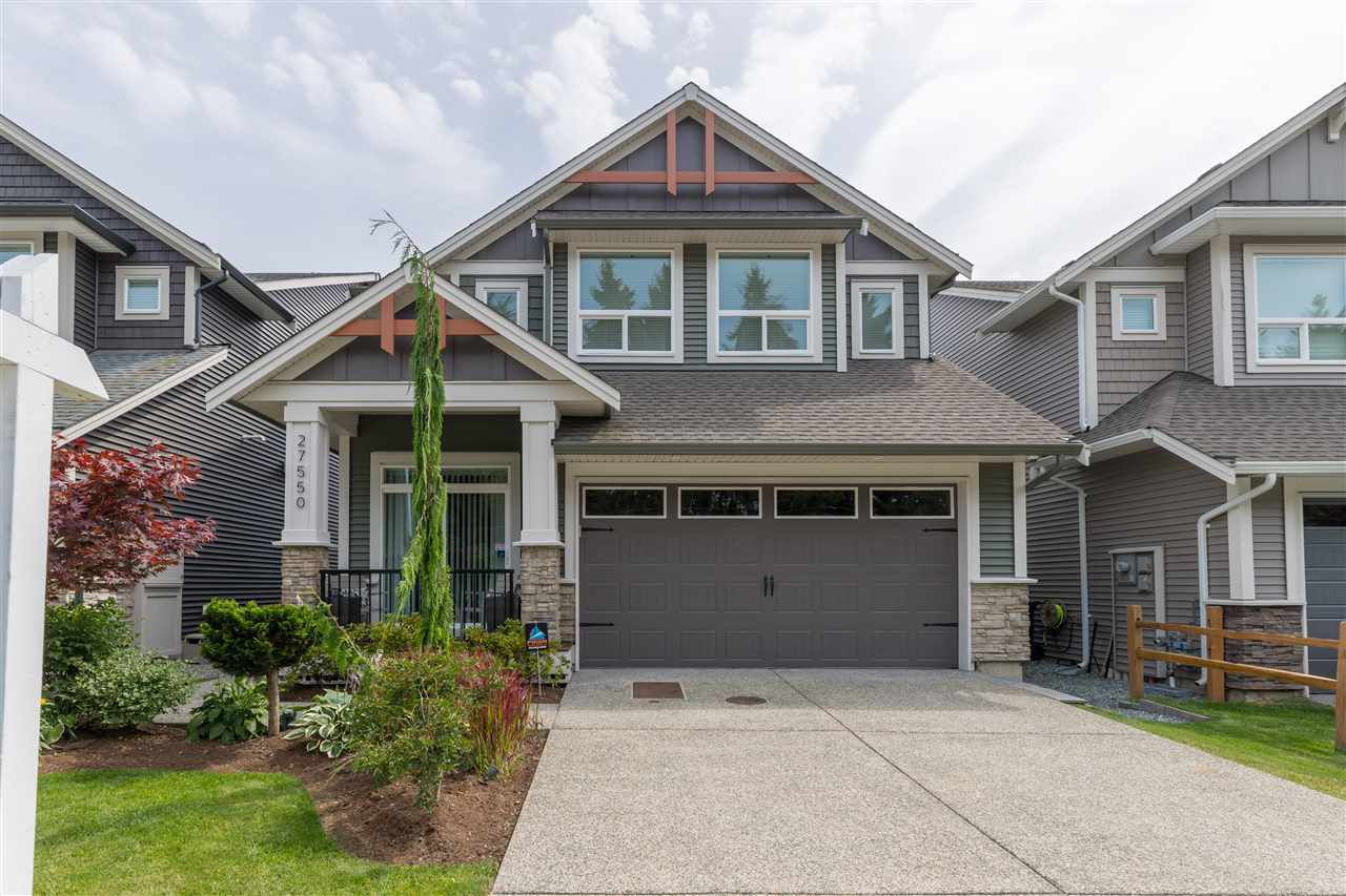 "Main Photo: 27550 28 Avenue in Langley: Aldergrove Langley House for sale in ""Bertrand Creek"" : MLS®# R2388131"