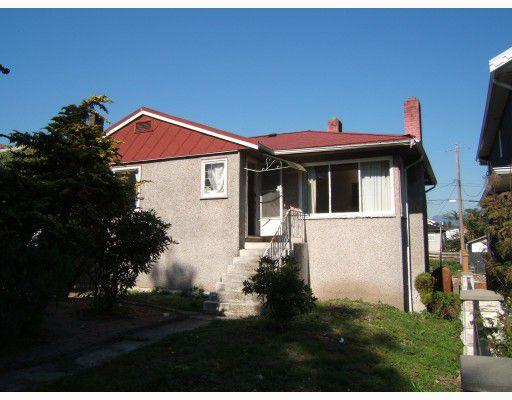 "Main Photo: 3441 E 4TH Avenue in Vancouver: Renfrew VE House for sale in ""RENFREW"" (Vancouver East)  : MLS®# V789915"