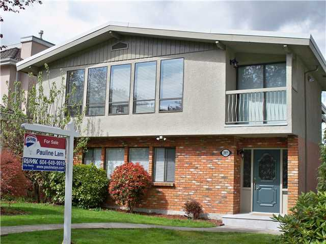 Main Photo: 2855 ALAMEIN Avenue in Vancouver West, Arbutus: Arbutus House for sale (Vancouver West)  : MLS®# V821415