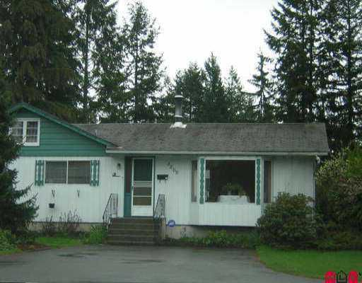 Main Photo: 3800 204TH ST in Langley: Brookswood Langley House for sale : MLS®# F2608730