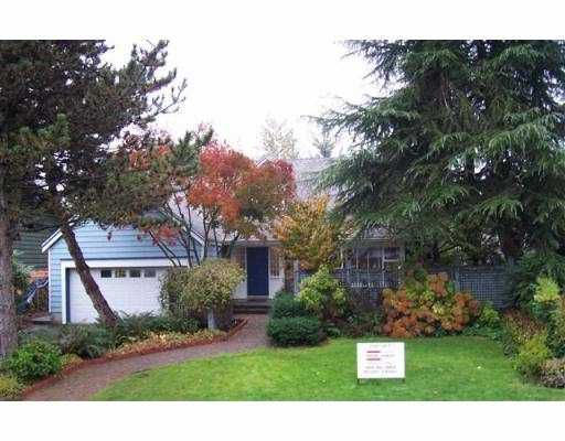 Main Photo: 1164 EAGLERIDGE Drive in Coquitlam: Eagle Ridge CQ House for sale : MLS®# V620079