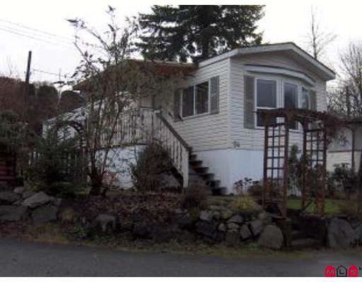 """Main Photo: 54 9950 WILSON Street in Mission: Stave Falls Manufactured Home for sale in """"Ruskin Trailer Park"""" : MLS®# F2826804"""