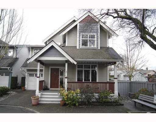 Main Photo: 10 4771 GARRY Street in Richmond: Steveston South Townhouse for sale : MLS®# V754073