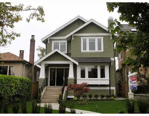 Main Photo: 4073 W 18TH Avenue in Vancouver: Dunbar House for sale (Vancouver West)  : MLS®# V755311