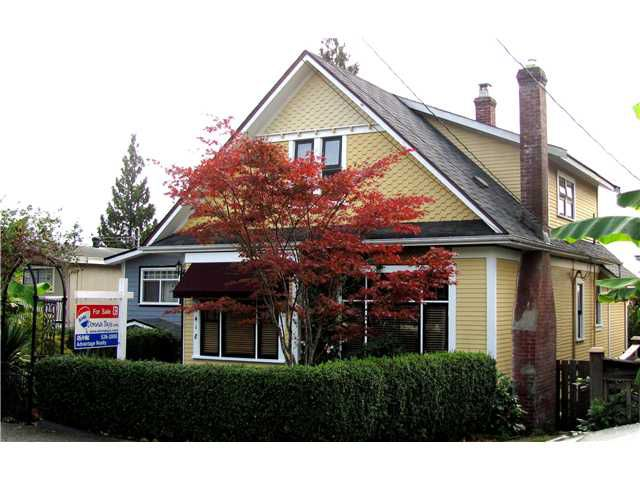 "Main Photo: 1418 7TH Avenue in New Westminster: West End NW House for sale in ""WEST END"" : MLS®# V854555"