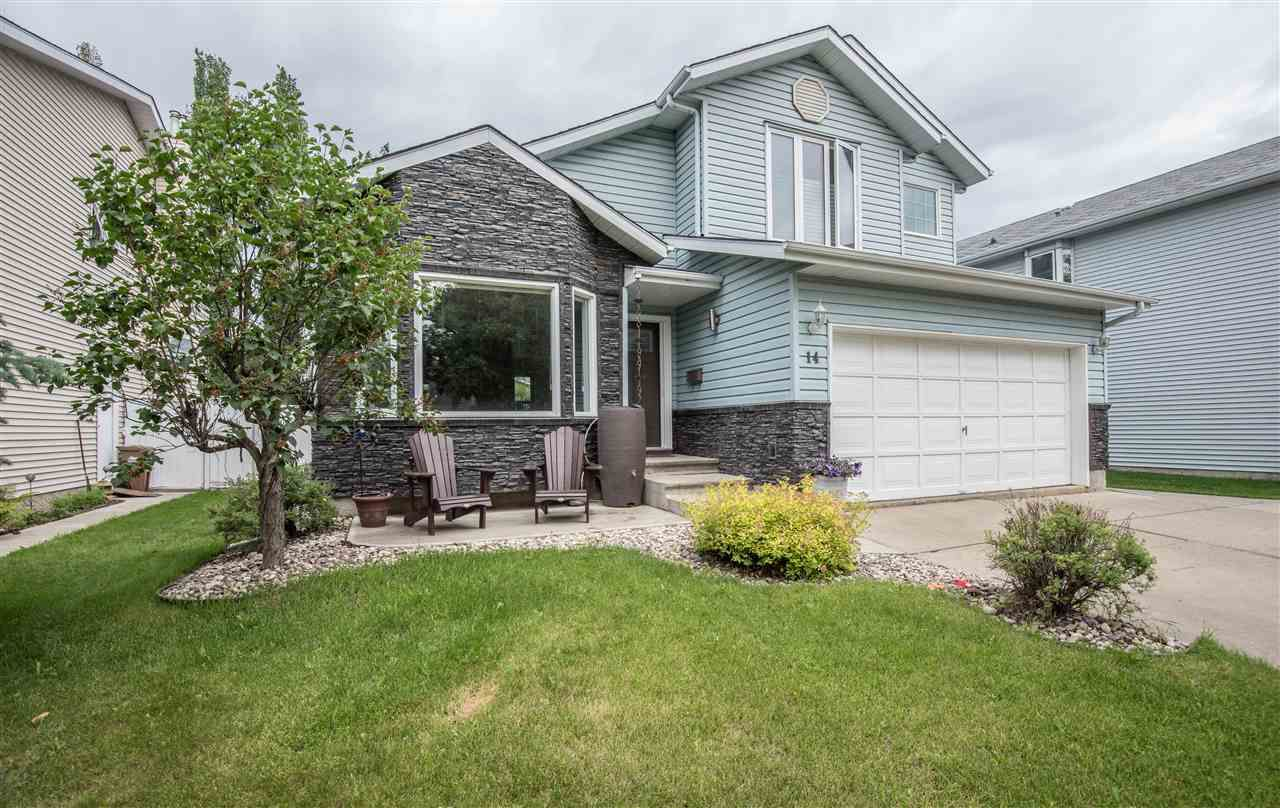 Main Photo: 14 DURAND Place: St. Albert House for sale : MLS®# E4165338