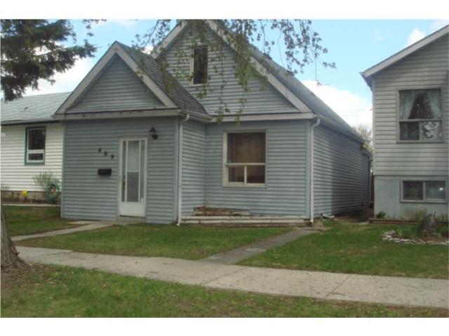 Main Photo: 469 Collegiate Street in WINNIPEG: St James Residential for sale (West Winnipeg)  : MLS®# 1007969