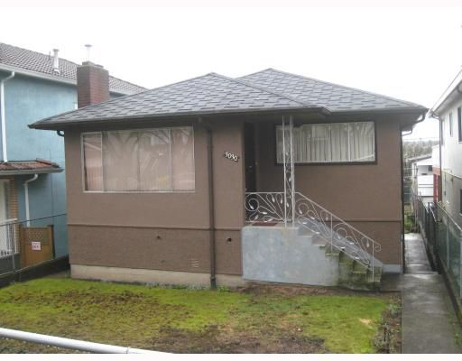 Main Photo: 3030 E 7TH Avenue in Vancouver: Renfrew VE House for sale (Vancouver East)  : MLS®# V812173