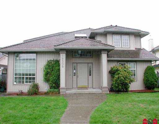 """Main Photo: 18508 64TH AV in Surrey: Cloverdale BC House for sale in """"EAGLE CREST"""" (Cloverdale)  : MLS®# F2509515"""