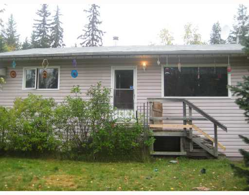 """Main Photo: 9585 CHILCOTIN Road in Prince_George: Pineview House for sale in """"PINEVIEW"""" (PG Rural South (Zone 78))  : MLS®# N187208"""