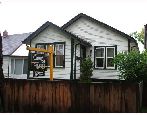 Main Photo: 621 WALKER Avenue in WINNIPEG: Fort Rouge / Crescentwood / Riverview Residential for sale (South Winnipeg)  : MLS®# 2810170