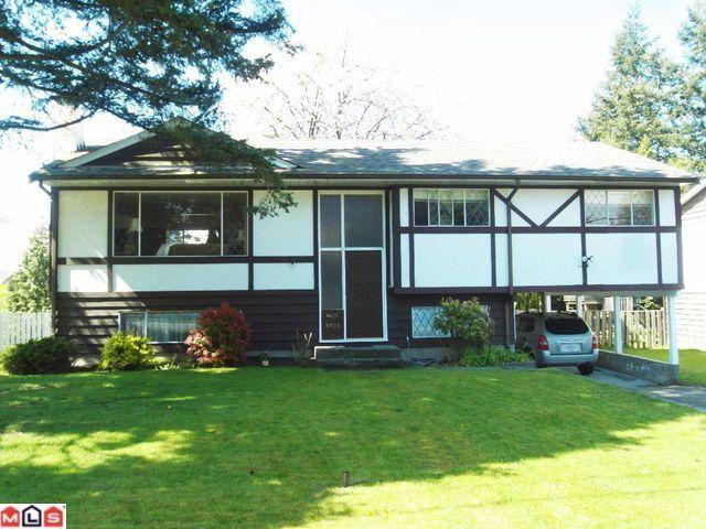 "Main Photo: 8935 112A Street in Delta: Annieville House for sale in ""Anniville"" (N. Delta)  : MLS®# F1010681"