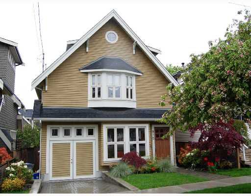 "Main Photo: 875 W 24TH Avenue in Vancouver: Cambie House for sale in ""DOUGLAS PARK"" (Vancouver West)  : MLS®# V722900"