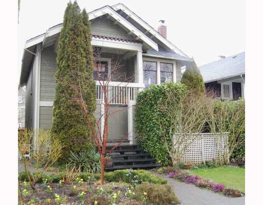 """Main Photo: 857 W 17TH Avenue in Vancouver: Cambie House 1/2 Duplex for sale in """"DOUGLAS PARK"""" (Vancouver West)  : MLS®# V756661"""
