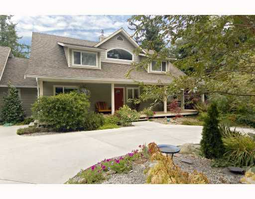Main Photo: 462 VETERANS Road in Gibsons: Gibsons & Area House for sale (Sunshine Coast)  : MLS®# V733828