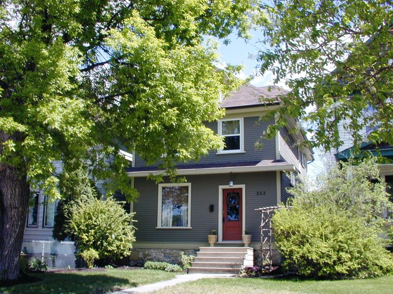 Main Photo: 533  Stiles Street / Wolseley in Winnipeg: West End / Wolseley House/Single Family for sale (WOLSELEY)  : MLS®# 2608016