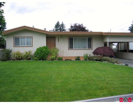Main Photo: 2351 BEAVER Street in Abbotsford: Abbotsford West House for sale : MLS®# F2818913