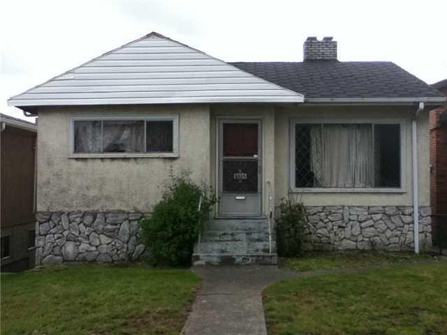 Main Photo: 2335 RENFREW Street in Vancouver: Renfrew VE House for sale (Vancouver East)  : MLS®# V891367
