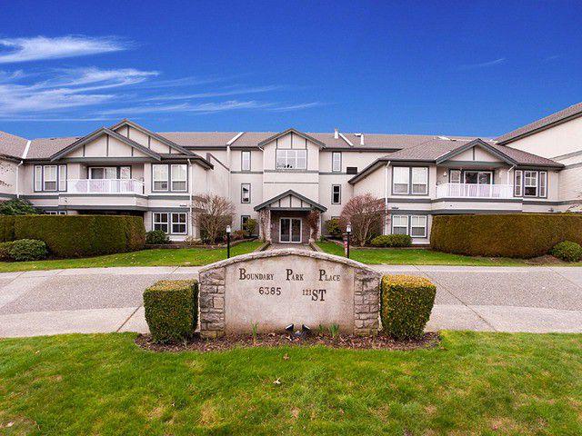 Main Photo: 103 6385 121ST Street in Surrey: Panorama Ridge Condo for sale : MLS®# F1303927