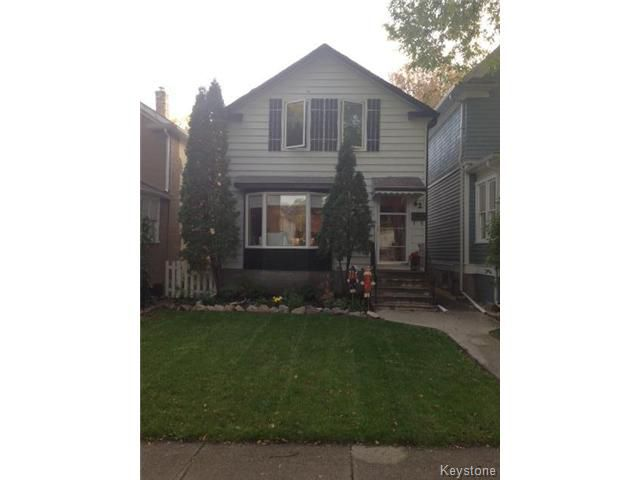 Main Photo: 62 Inkster Boulevard in WINNIPEG: North End Residential for sale (North West Winnipeg)  : MLS®# 1424081