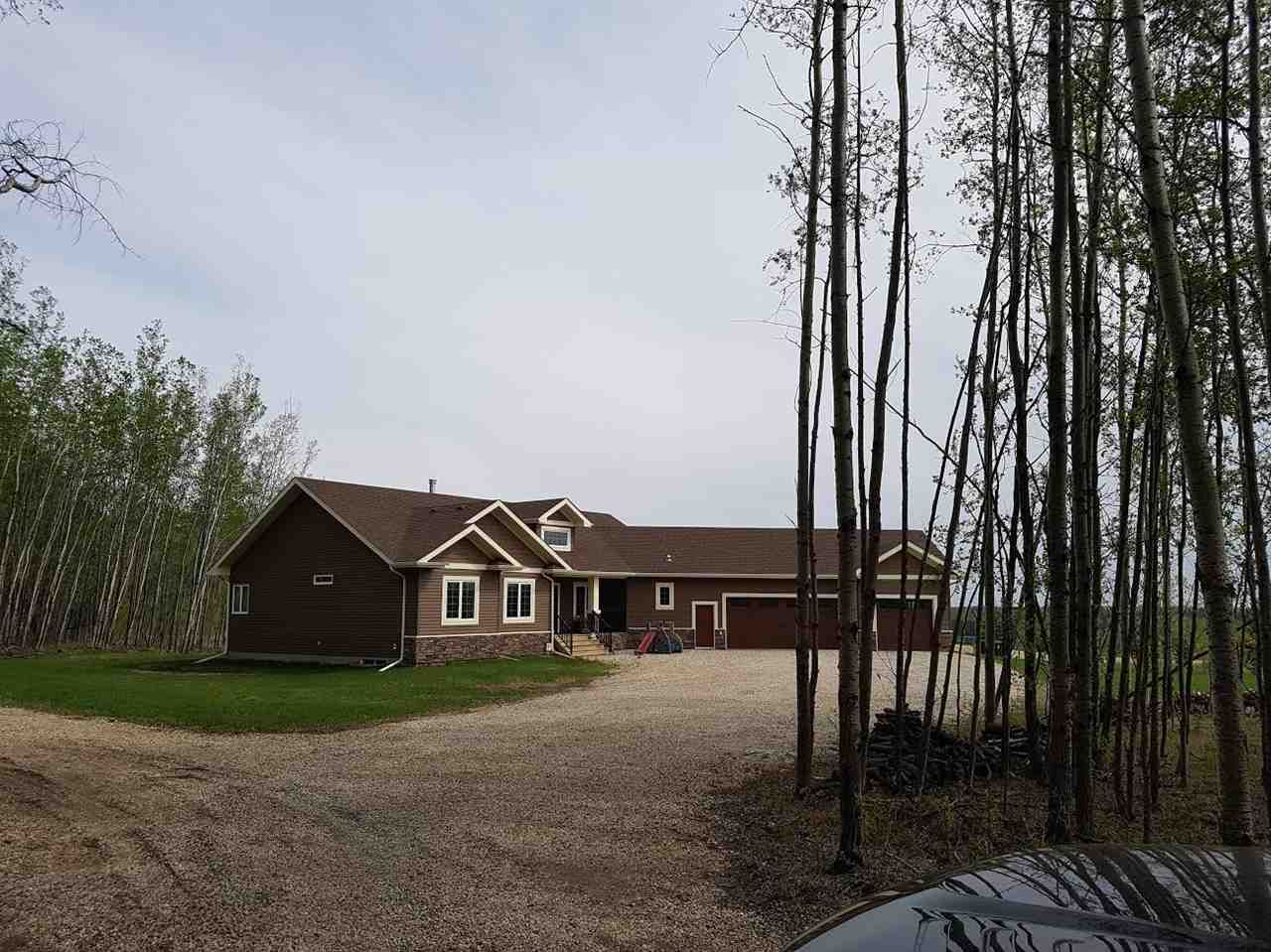 Main Photo: 31 1319 TWP RD 510: Rural Parkland County House for sale : MLS®# E4138639