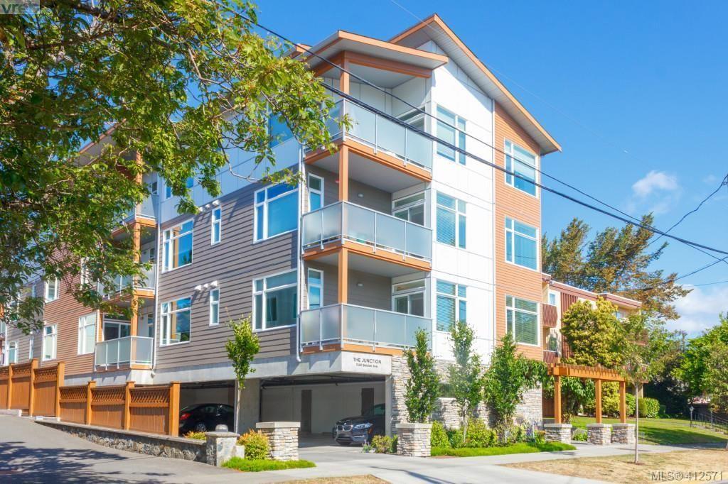 Main Photo: 201 1540 Belcher Avenue in VICTORIA: Vi Jubilee Condo Apartment for sale (Victoria)  : MLS®# 412571