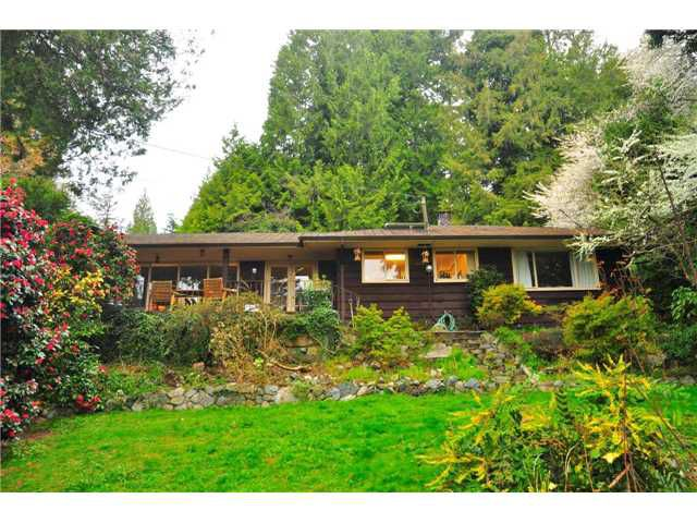 Main Photo: 4428 N PICCADILLY ST in West Vancouver: Caulfeild House for sale : MLS®# V939874