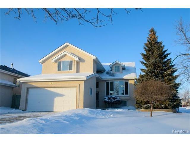Main Photo: 100 Blackwood Bay in WINNIPEG: Fort Garry / Whyte Ridge / St Norbert Residential for sale (South Winnipeg)  : MLS®# 1500601