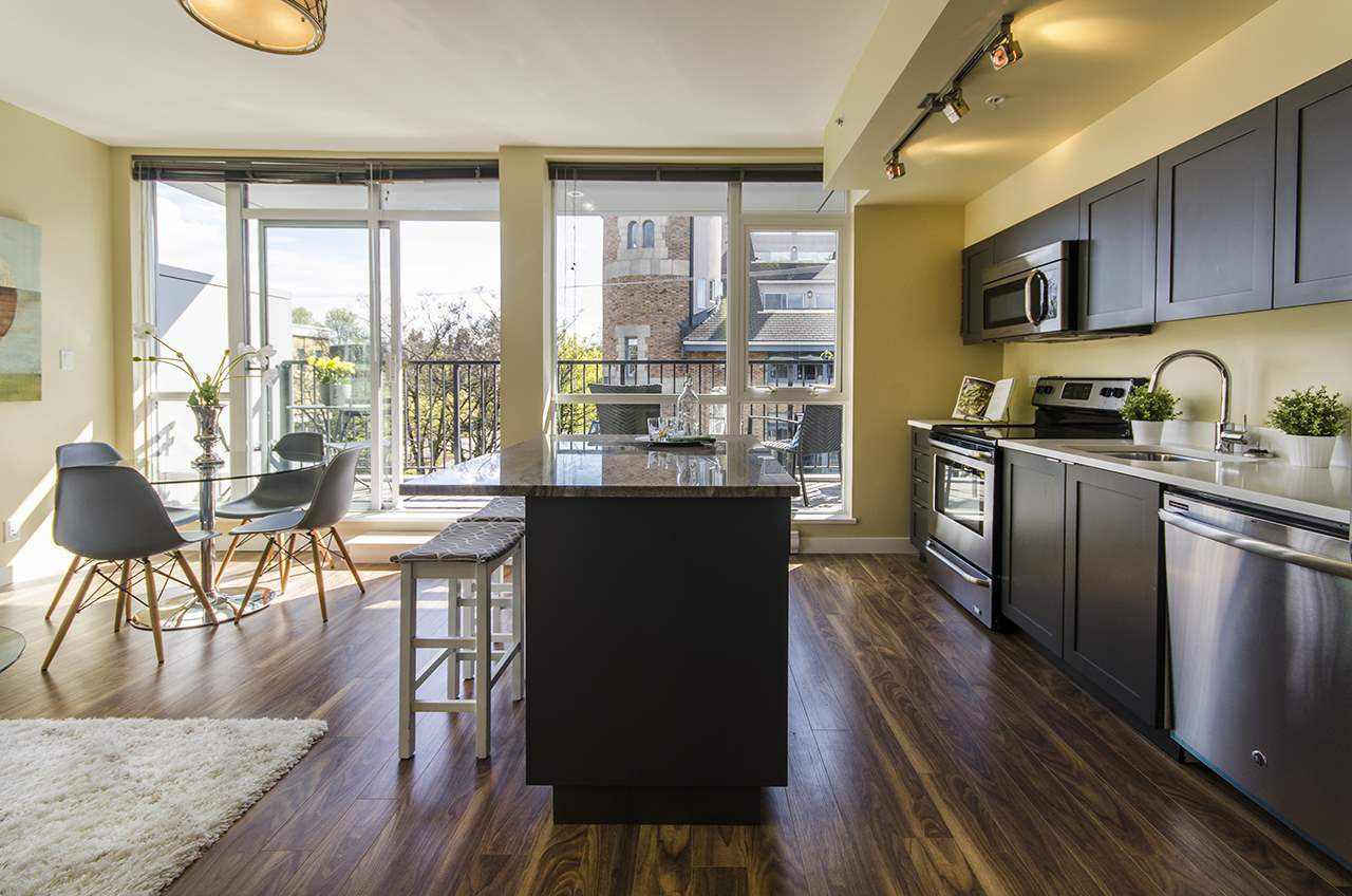 "Main Photo: 414 2511 QUEBEC Street in Vancouver: Mount Pleasant VE Condo for sale in ""OnQue"" (Vancouver East)  : MLS®# R2053694"