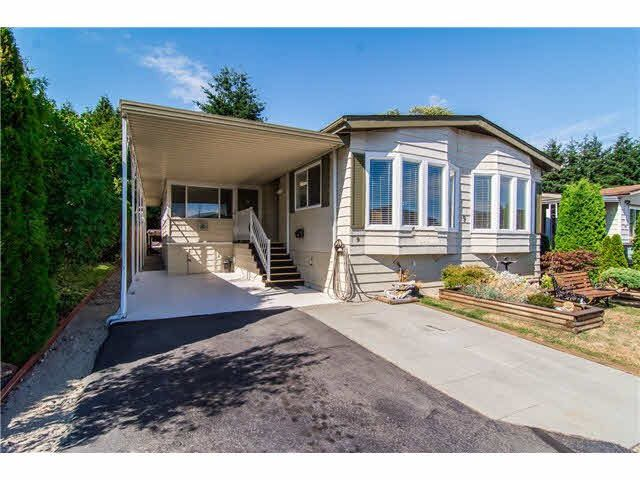 "Main Photo: 9 1640 162 Street in Surrey: King George Corridor Manufactured Home for sale in ""Cherry Brook Park"" (South Surrey White Rock)  : MLS®# R2088159"