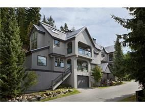 Main Photo: 43 2544 SNOWRIDGE Circle in Whistler: Nordic Townhouse for sale : MLS®# R2107830