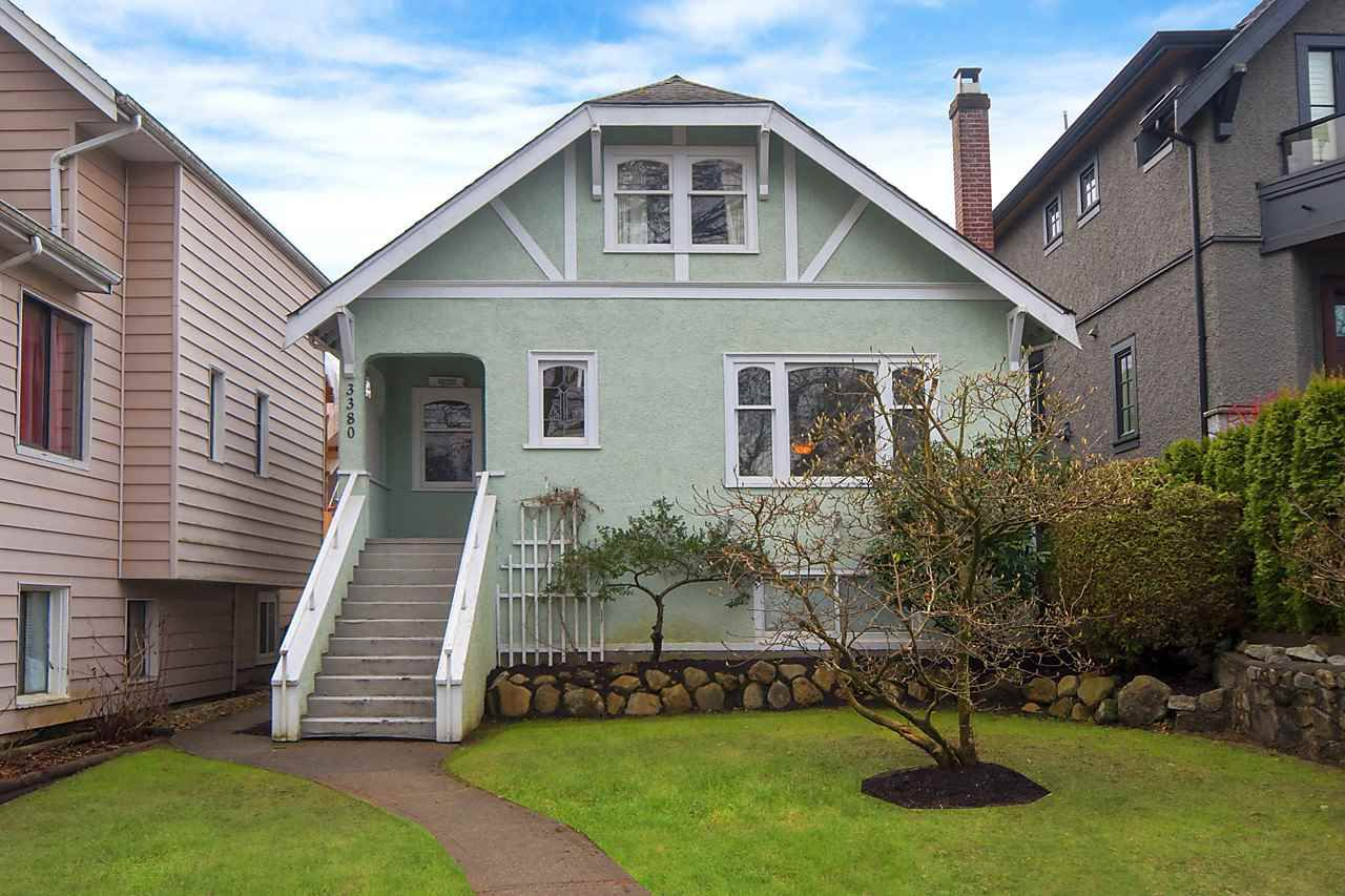 Main Photo: 3380 W 22ND Avenue in Vancouver: Dunbar House for sale (Vancouver West)  : MLS®# R2168383