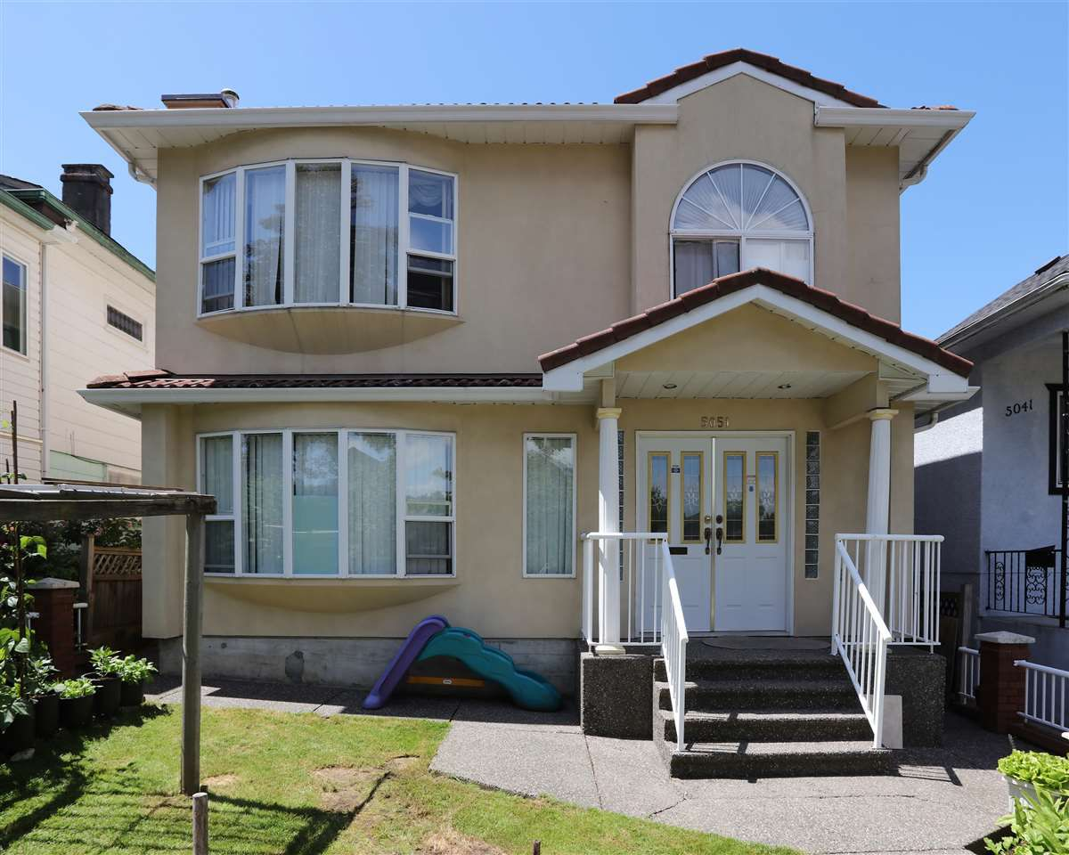 Main Photo: 5051 WINDSOR Street in Vancouver: Fraser VE House for sale (Vancouver East)  : MLS®# R2183305
