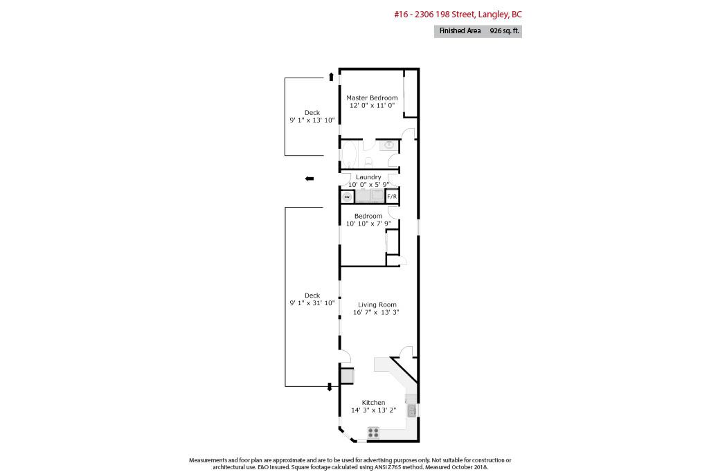 """Main Photo: 16 2306 198 Street in Langley: Brookswood Langley Manufactured Home for sale in """"Cedar Lane"""" : MLS®# R2318545"""