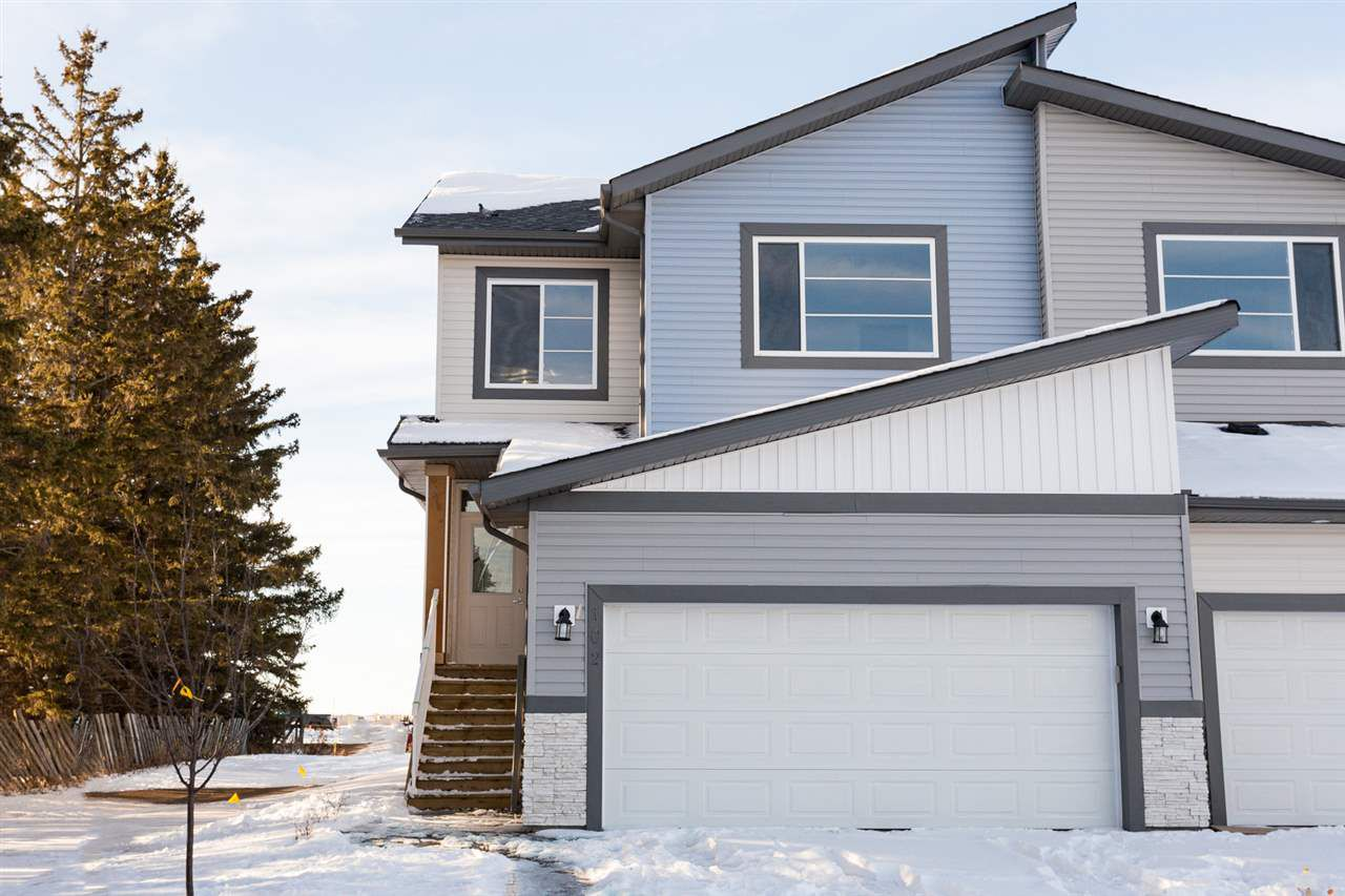 Main Photo: 102 AWENTIA Street: Leduc Attached Home for sale : MLS®# E4138227