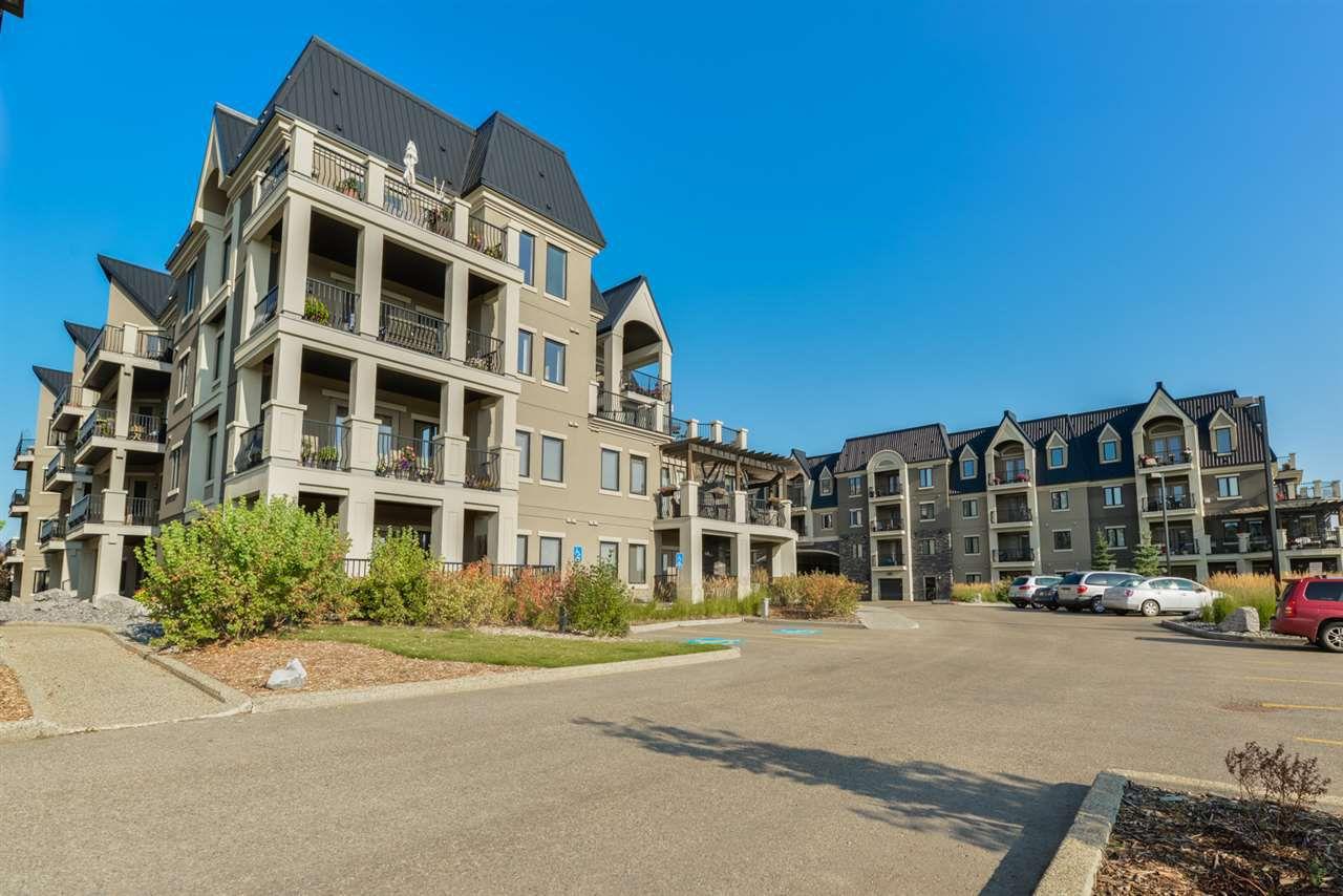 Main Photo: 113 6083 MAYNARD Way in Edmonton: Zone 14 Condo for sale : MLS®# E4139559