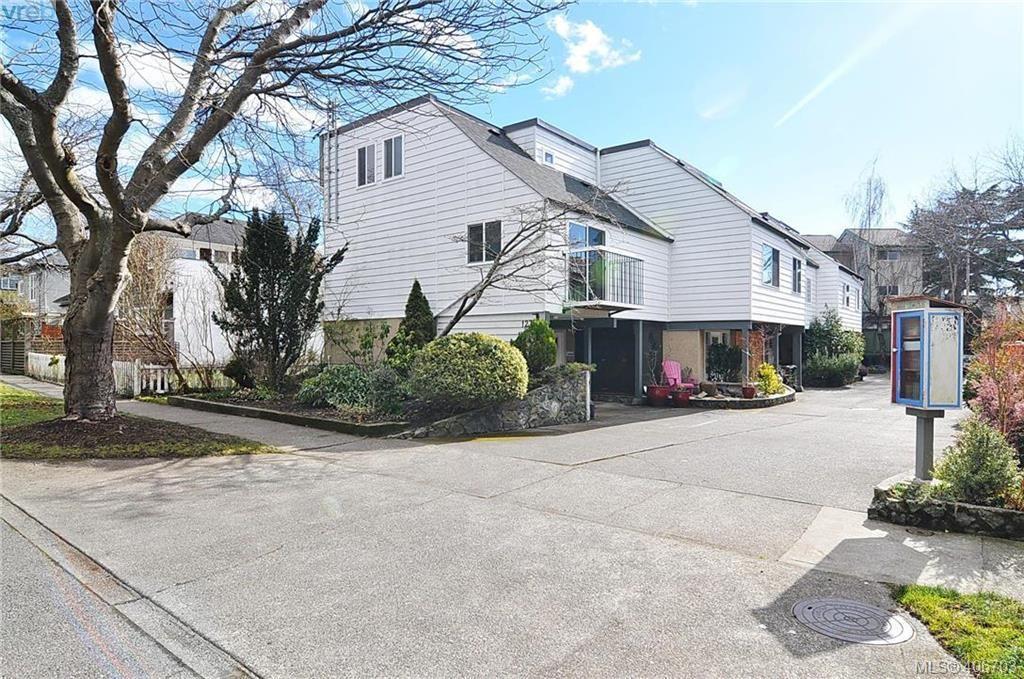 Main Photo: 1 123 Ladysmith Street in VICTORIA: Vi James Bay Townhouse for sale (Victoria)  : MLS®# 406703