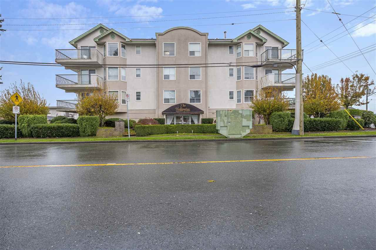 "Main Photo: 301 9400 COOK Street in Chilliwack: Chilliwack N Yale-Well Condo for sale in ""The Wellington"" : MLS®# R2351371"