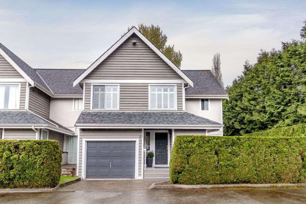 "Main Photo: 6 1135 LANSDOWNE Drive in Coquitlam: Eagle Ridge CQ Townhouse for sale in ""CREEKSIDE ESTATES"" : MLS®# R2360623"