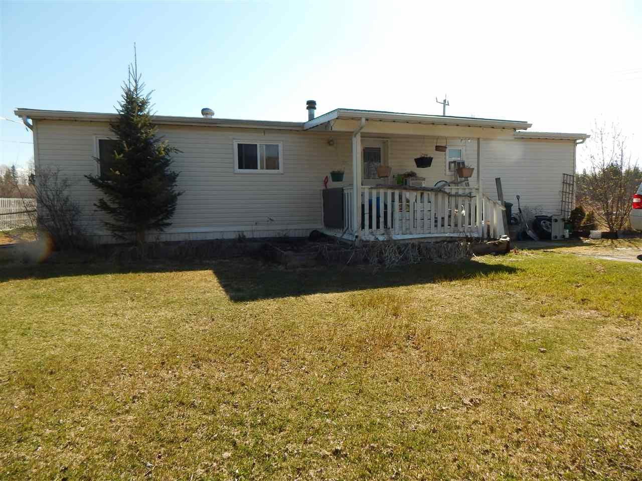 """Main Photo: 8780 COLUMBIA Road in Prince George: Pineview Manufactured Home for sale in """"PINEVIEW"""" (PG Rural South (Zone 78))  : MLS®# R2364461"""