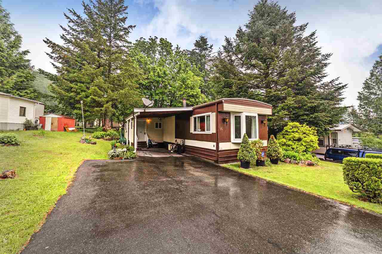 Main Photo: 96 43201 LOUGHEED Highway in Mission: Dewdney Deroche Manufactured Home for sale : MLS®# R2370209