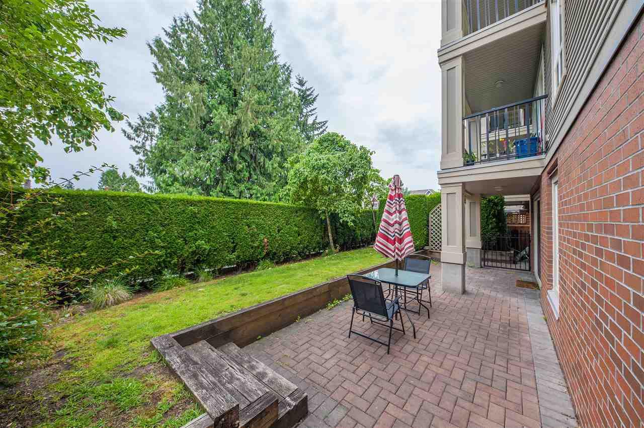 Main Photo: 102 1576 GRANT Avenue in Port Coquitlam: Glenwood PQ Condo for sale : MLS®# R2387470