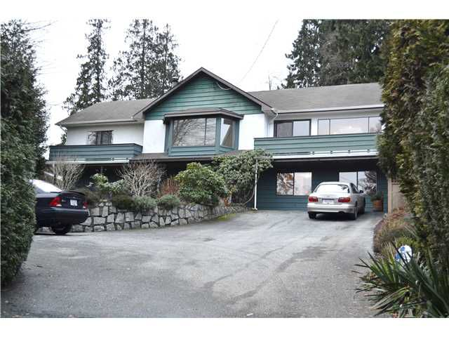 Main Photo: 317 N DOLLARTON Highway in North Vancouver: Dollarton House for sale : MLS®# V925843