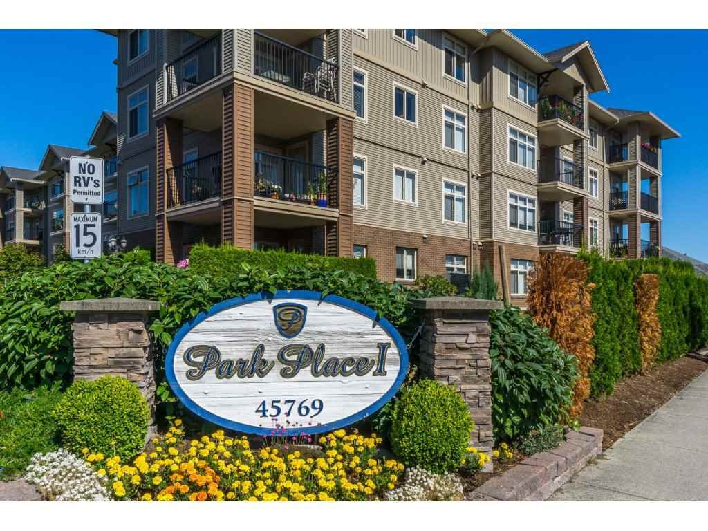 """Main Photo: 113 45769 STEVENSON Road in Chilliwack: Sardis East Vedder Rd Condo for sale in """"Homelife Property Mgnt"""" (Sardis)  : MLS®# R2100141"""