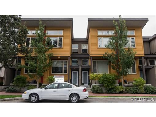 Main Photo: 103 2733 Peatt Road in VICTORIA: La Langford Proper Townhouse for sale (Langford)  : MLS®# 369817